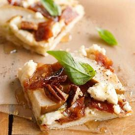 Bacon & Pear Pizza!