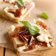Bacon & Pear Pizza!