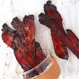 Maple & Coffee Glazed Bacon!