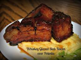 Whiskey Maple Slab Bacon!