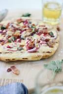 Bacon Plum Grilled Flatbread!