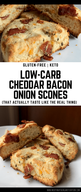 Cheddar Bacon Onion Scones!