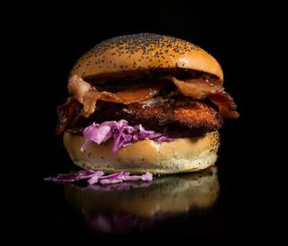Bacon Fried Chicken Sandwich!