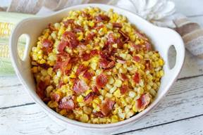 Bacon Fried Corn!