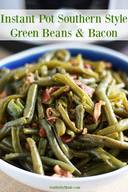 Southern Style Green Beans & Bacon!