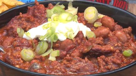 Bacon Cheeseburger Chili!