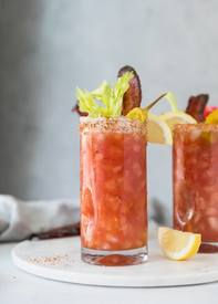 Bourbon Maple Bacon Bloody Mary!