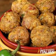 Bacon Jalapeno Popper Meatballs!