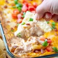 Cheddar Bacon Ranch Bean Dip!
