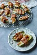 Bacon & Sausage Jalapeno Poppers!