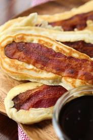 Pancake Bacon Dippers!