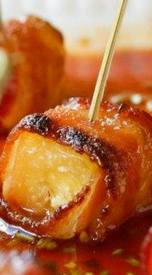 Bacon Wrapped Pineapple Poppers!