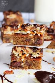 Beer Bacon & Potato Chip Cookie Bars!