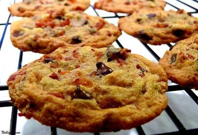 Maple Bacon Chocolate Chip Cookies!
