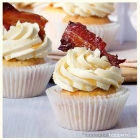 Maple Bacon Cupcakes!
