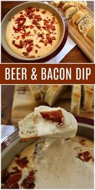Beer Bacon Dip!
