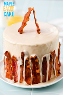 Maple Bacon Cake!
