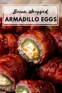 Bacon Wrapped Armadillo Eggs!