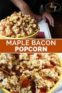 Maple Bacon Popcorn!