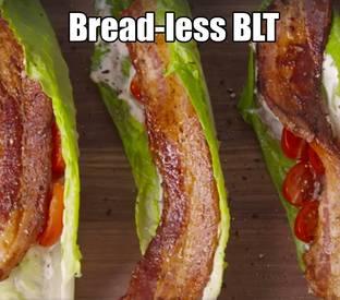 Breadless Blt!