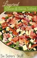 Bacon & Swiss Salad!