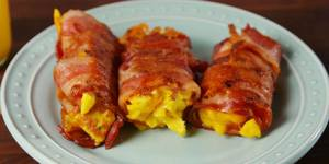 Bacon Egg & Cheese Roll-ups!