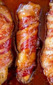 Bacon Brown Sugar Chicken Tenders!