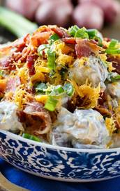 Loaded Ranch Potato Salad!