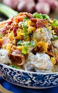 Loaded Ranch Potato Salad!