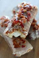 Maple Bacon Bourbon Cream Bars!