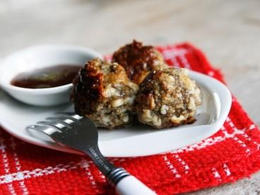 Bacon Cheddar Meatballs!