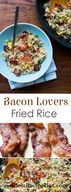 Easy Bacon Fried Rice!
