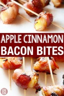 Apple Cinnamon Bacon Bites!