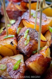 Bacon Wrapped Potatoes!