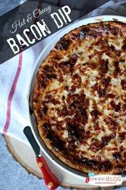 Hot & Cheesy Bacon Dip!