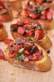 Bacon Bruschetta!