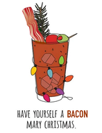 Bacon Mary Christmas!