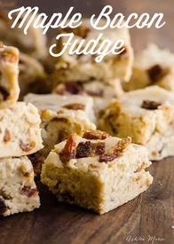 Maple Bacon Fudge!