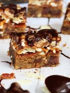 Bacon Beer & Potato Chip Cookie Bars!