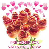 Valentine's Bacon Bouquet!