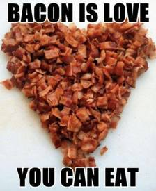 Bacon Is Love!