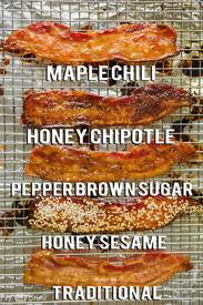 4 Amazing Bacon Flavors!