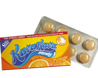 Kava candy open orange