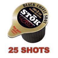 Stok Caffeinated Cold Brew Coffee Shot - 25 Caffeine Shots