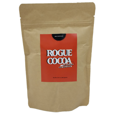 Rogue Cocoa Original Caffeinated Hot Chocolate Mix - Hot Cocoa with Caffeine (Milk Chocolate)