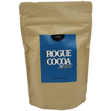 Rogue Cocoa Caffeinated Hot Chocolate Mix - Hot Cocoa with Caffeine (Tropical Coconut)