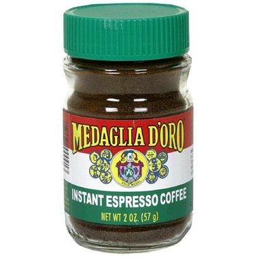 Medaglia D'Oro Imported Instant  Espresso Powder Ground Coffee 2 oz