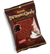 Bali's Best Espresso Candy with Real Coffee Caffeine On The Go (5.35 oz Bag)