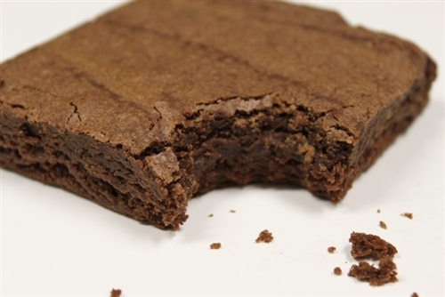 Caffeinated Brownies Energy Brownie Square Caffeine Snack