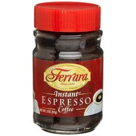 Ferrara Italian Instant  Espresso Powder Ground Coffee 2 oz Jar
